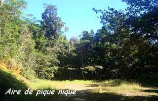 aire pique nique, trace 36 mois, ste rose, basse terre, guadeloupe