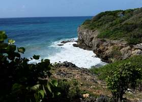 anse canot, littoral, ste anne, grande terre, guadeloupe