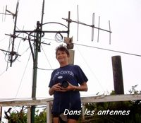 antennes, madeleine, Trois rivières, basse terre, guadeloupe