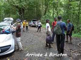Arrivée à Birloton
