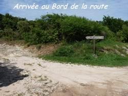 route retour, pointe chateaux, grande terre