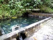 balade armistice, basse terre, foret humide , bain chaud, guadeloupe