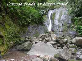 cascade froide, chutes carbet 2, basse terre sud, guadeloupe