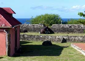 casemate, vieux fort, basse terre, Guadeloupe