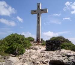 croix, pointe des chateaux, grande terre