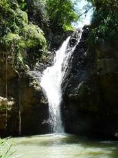 balade rivière plessis, cascade, basse terre, guadeloupe, antilles