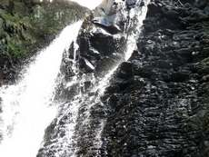 balade, rivière plessis, cascade, basse terre, guadeloupe, antilles