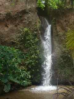 cascade de la fontaine, capesterre belle eau, guadeloupe