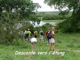 Descente vers le lac de Gaschet, Poyen