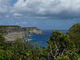 falaises , TGT3, grande terre, guadeloupe