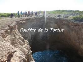 gouffre tortue, TGT3, grande terre, guadeloupe