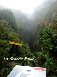 la grande faille, soufrire, guadeloupe