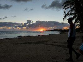lever soleil, TGT5, grande terre, guadeloupe
