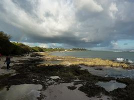 littoral , ciel, TGT5, grande terre, guadeloupe