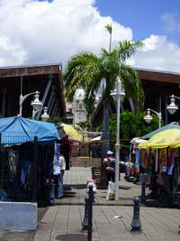 marché , Basse Terre, guadeloupe