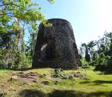 moulin, grande pointe,trois rivières, basse terre sud, guadeloupe