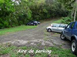 Parking à Gros Figuier, Piton de Bouillante