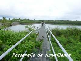passerelle sur le lac de Gaschet, Poyen