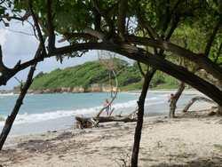 balade st felix, plage grande terre, guadeloupe, antilles