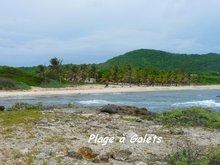 balade, désirade, plage, iles de guadeloupe, antilles