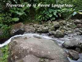 ravine, longueteau, chutes carbet, basse terre sud, guadeloupe