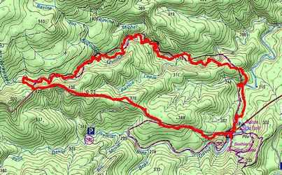 rivière quiock, carte, route mamelles, guadeloupe