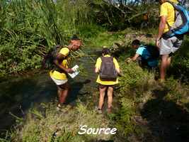 source, TGT J1, grande terre, guadeloupe