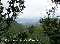 vue madeleine, basse terre sud, guadeloupe