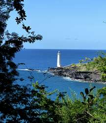 vue phare vieux fort guadeloupe