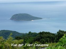 vue, balade, dos d`ane, basse terre, guadeloupe, antilles